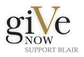 Give Now:  Support Blair