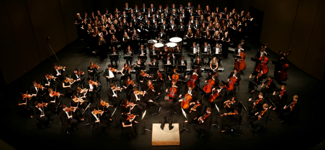 Large Choir with Orchestra