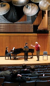 Walter Seyfarth Berlin Philharmonic Wind Ensemble master classes