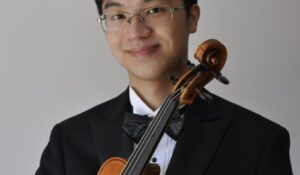 Violinist Kingston Ho is first-ever Vanderbilt student tapped for Paganini competition thumbnail image