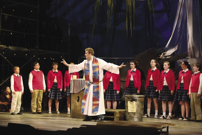 Steven Fiske with Blair Children's Chorus Mass