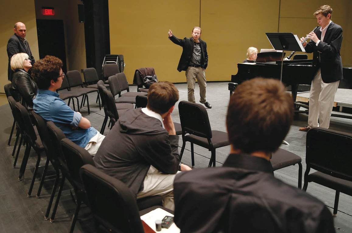 Berlin Philharmonic Wind Quintet master class Michael Hasel